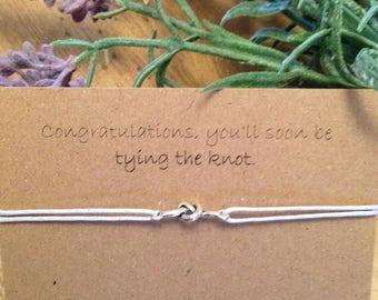 Tying the knot  bracelet