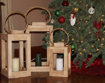 Handmade Wooden Lanterns