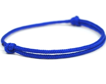 Discreet KOMIMAR surfer bracelet DEEP BLUE - Bangle - Friendship Bracelet - bracelet - Friendship Bracelet