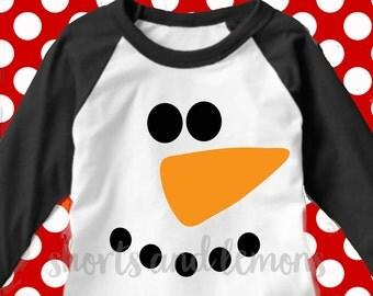 Snowman face svg, Frosty svg, reindeer svg, Santa Hat svg, Christmas SVG, DXF, EPS,elf svg, cut file, snowman svg, funny svg