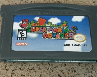 Super Mario Advance Gameboy Advance GBA DS Nintendo Classic Game