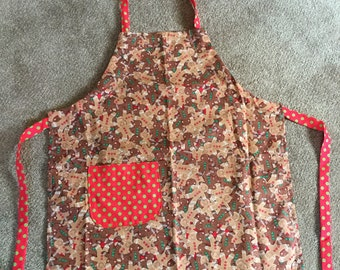 Children's Christmas Apron