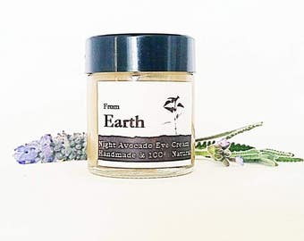 Organic Night Eye Cream