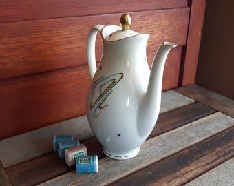Vintage Bavaria Eberthal West Germany Teapot / teapot Eberthal 2620 Abstract Art
