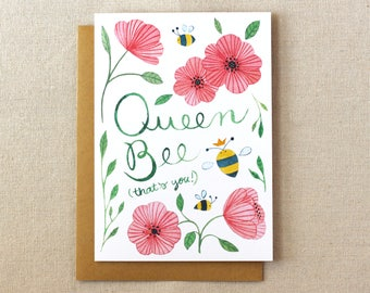 Queen Bee | Mother's Day Card