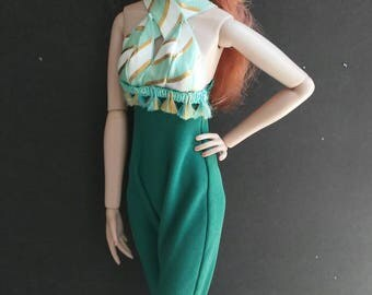 16 inch Fashion doll jumpsuit one size fits all!