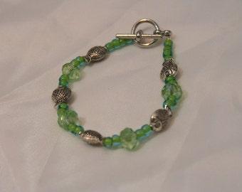 HANDMADE BEADED FISH Bracelet #26