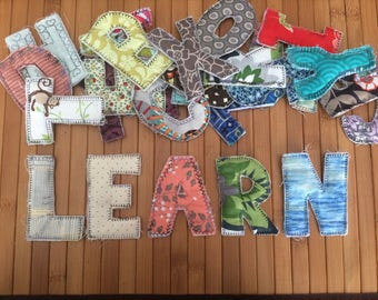magnetic fabric alphabet letters 26 magnetic letters fabric letter magnets names magnets