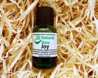 Joy Essential Oil Blend/100% Pure & Therapeutic Essential Oils/Diffuser Blend/Uplift/Invigorate