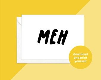 printable download | meh
