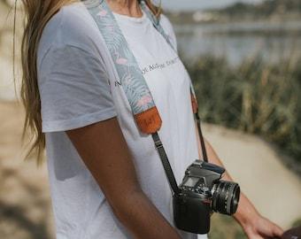 FLAMINGOS camera strap