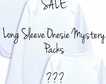 GIRLS Long Sleeve Onesie Mystery Packs