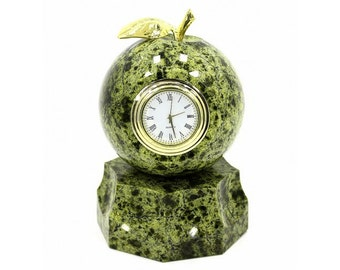 """Watch """"the Apple"""" on the stand Products made of natural stone"""