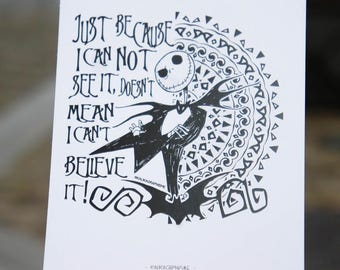 Mandalas & Tim Burton's post card
