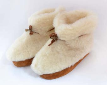 Slippers European Cozy White - Ivory soft and comfy