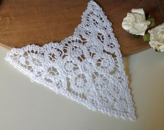 LACE - White  Lace Appliques  Vintage  New Old Stock
