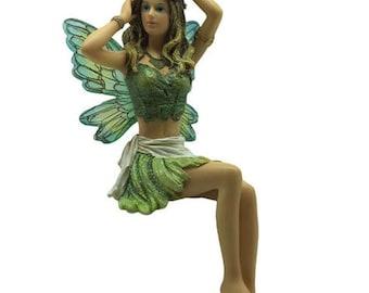 Miniature Dollhouse FAIRY GARDEN ~ Fairy Ornament Fairy Figure Rhiannon ~ NEW