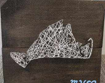 Martha's Vineyard String Art