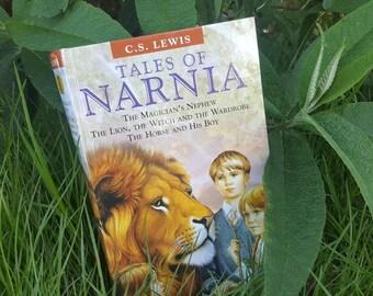 Tales of Narnia Book Clutch Bag