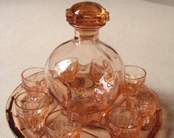 Décanteur de liqueur vintage