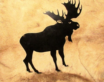 Moose,  Metal Art, Hunter, Sportsman,