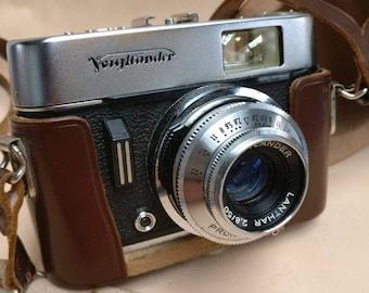 Vintage Voightlander Vito C Camera in original case