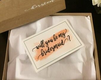 DIY - Bridesmaid Proposal Box