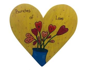 Medium Bunches of Love Heart