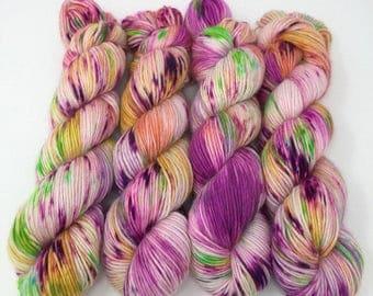 Hand Dyed Yarn - Alpaca/Merino/Silk -  DK - Farewell