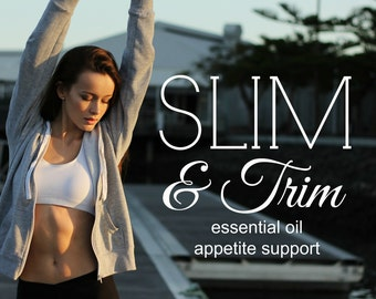 SLIM & TRIM appetite support | Diet Aid| Appetite Suppressant Help| Weight-Loss Support