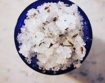 Lavender Sage Salt Scrub