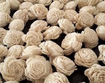 Sola Wood Flowers, Sola Wood, Keepsake Bouquet, Wood Flower Wedding Bouquet, Wood Flower Bouquet, Ivory Sola Flower Bouquet, 10 Sola Flowers