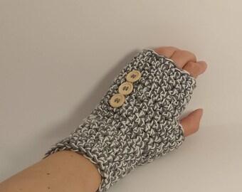 crochet gloves fingerless, handmade gloves, woman gift, gloves fingerless