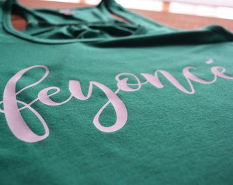 Engagement Gift | Feyonce Tank Top | Fiance