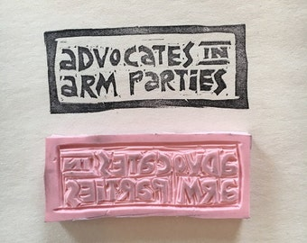 Advocates In Arm Parties Stamp