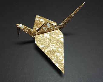 20 Origami Crane. Copper, Wedding Favors