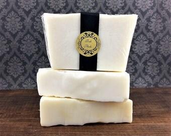 100% Castile Soap - Unscented Soap - Olive Oil Soap - All Natural Soap - Bar Soap - CP Soap - Gentle Soap - Soap for Sensitive Skin