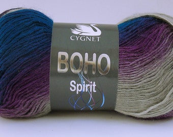 Cygnet Boho Spirit Chic x 5 balls - fashion yarn