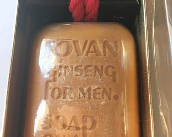Vintage Ginseng Soap on a Rope