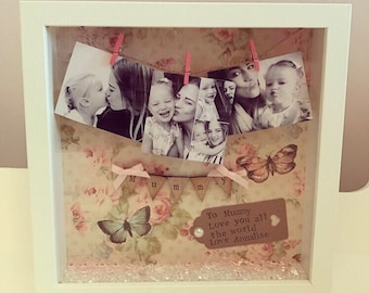 Personalised photo picture frame
