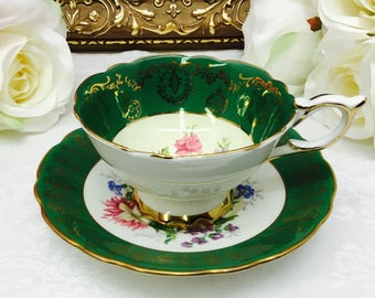 Royal Stafford teacup and saucer.