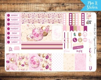 Mini H Beautiful Easter Weekly Planner Stickers {#48}