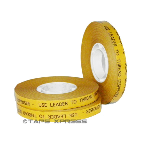 "3/8"" (3 rolls) ATG Adhesive Transfer Tape (Fits 3M Gun) For Photo Crafts & Scrapbooking (3 rolls) - Free Shipping Within USA"