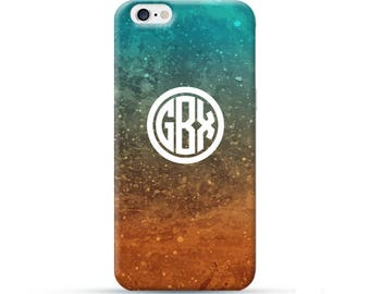 Personalized iPhone 8 Case, iPhone 8 Plus Case, iPhone X Case, iPhone 7 Case, iPhone 6 case, personalised phone case, Monogram case