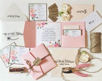DEPOSIT: Custom Wedding Invitations