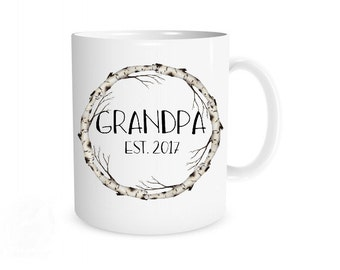 Grandpa Mug, New Grandpa Mug, New Grandpa Gift, Grandpa Gift, Grandpa Present, Grandpa Coffee Mug, Christmas Gift, Pregnancy Reveal