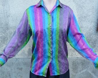 blouse vintage of XEMARA PARIS size 38/40 international M/L