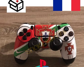 Skin stickers controller portugal ps4 controller led light bar controller