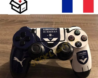Skin stickers bordeaux ps4 controller controller led light bar controller