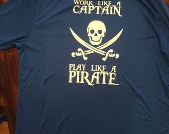 Work like a captain T Shirt